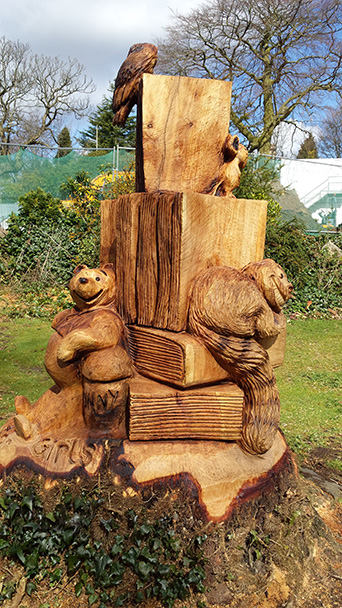 Tree Carving Competition – Alderley Edge School for Girls